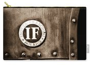 1913 Isotta Fraschini Tipo Im Emblem Carry-all Pouch