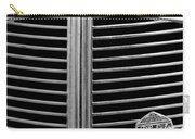 1936 Desoto Airstream Grille Emblem Carry-all Pouch