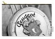 1937 Peugeot 402 Darl'mat Legere Special Sport Roadster Recreation Steering Wheel Emblem Carry-all Pouch by Jill Reger