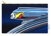 1939 Pontiac Silver Streak Chief Hood Ornament Carry-all Pouch by Jill Reger