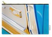 1953 Chevrolet Belair Convertible Emblem Carry-all Pouch
