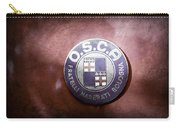 1954 O.s.c.a. Mt4 Maserati Emblem Carry-all Pouch