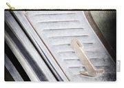1955 Lincoln Capri Emblem Carry-all Pouch