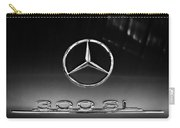 1955 Mercedes-benz Gullwing 300 Sl Emblem Carry-all Pouch
