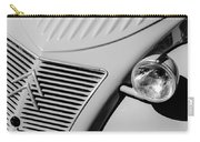 1956 Citroen 2cv Grille -0081bw Carry-all Pouch