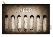 1957 Jeep Emblem Carry-all Pouch