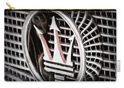 1957 Maserati Grille Emblem Carry-all Pouch