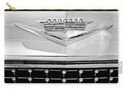 1958 Cadillac Eldorado Biarritz Convertible Emblem Carry-all Pouch by Jill Reger