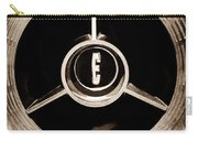1958 Edsel Pacer Convertible Wheel Emblem Carry-all Pouch