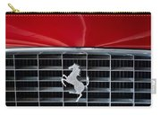 1960 Ferrari 250 Gt Swb Berlinetta Competizione Grille Emblem Carry-all Pouch