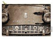1960 Triumph Tr 3 Grille Emblems Carry-all Pouch