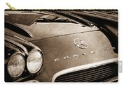 1962 Chevrolet Corvette Hood Emblems Carry-all Pouch