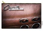 1965 Chevrolet Corvette Taillight Emblem Carry-all Pouch