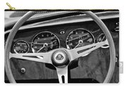 1965 Lotus Elan S2 Steering Wheel Emblem Carry-all Pouch by Jill Reger