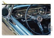 1965 Shelby Prototype Ford Mustang Steering Wheel Emblem Carry-all Pouch by Jill Reger