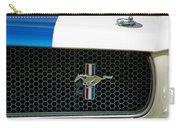 1966 Shelby Gt 350 Grille Emblem Carry-all Pouch