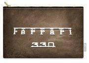 1967 Ferrari 330 Gtc Emblem Carry-all Pouch