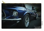 1969 Ford Mustang Mach 1 Fastback Carry-all Pouch by Paul Ward