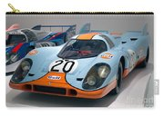 1970 Porsche 917 Kh Coupe Carry-all Pouch
