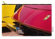 1971 Ferrari 365 Gtb-4 Daytona Spyder Hood Emblem Carry-all Pouch