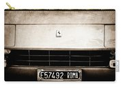 1972 Ferrari 365 Gtb -4a Grille Emblem Carry-all Pouch