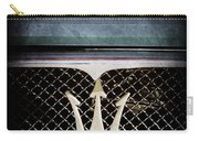 1972 Maserati Ghibli Grille - Hood Emblems Carry-all Pouch