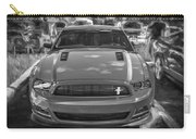 2013 Ford Mustang Gt Cs Painted Bw Carry-all Pouch