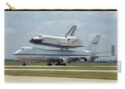 747 Carrying Space Shuttle Carry-all Pouch