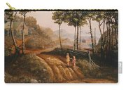 A Country Lane Carry-all Pouch