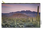 A Desert Sunset  Carry-all Pouch