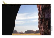 A Monument Valley View Carry-all Pouch