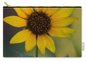 A Sunflower  Carry-all Pouch