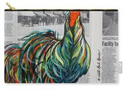 A Well Read Rooster Carry-all Pouch