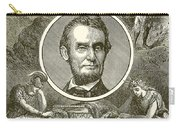 Abraham Lincoln Carry-all Pouch by English School