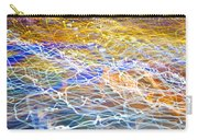 Abstract Background - Citylights At Night Carry-all Pouch