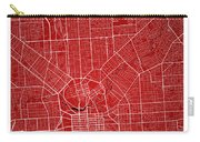 Adelaide Street Map - Adelaide Australia Road Map Art On Colored Carry-all Pouch