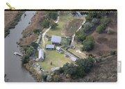 Aerial Near Jekyll Island Carry-all Pouch