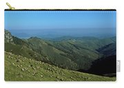 Aerial View Of Mountain Range Carry-all Pouch