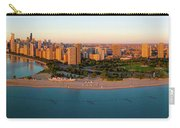 Aerial View Of North Avenue Beach Carry-all Pouch