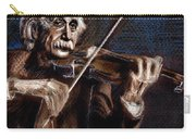Albert Einstein And Violin Carry-all Pouch