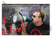 Alex Jones I Refuse Carry-all Pouch