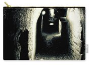 Altered Image Of A Tunnel In The Catacombs Of Paris France Carry-all Pouch