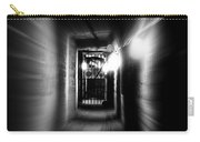 Altered Image Of A Tunnel Leading Out Of The Catacombs In Paris France Carry-all Pouch