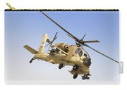An Ah-64a Peten Attack Helicopter Carry-all Pouch