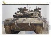 An Israel Defense Force Merkava Mark II Carry-all Pouch