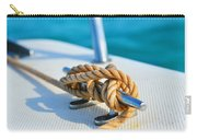 Anchor Line Carry-all Pouch by Laura Fasulo