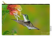 Andean Emerald Hummingbird Carry-all Pouch