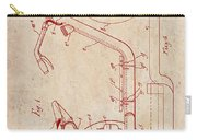 Antique Motorcycle Patent 1921 Carry-all Pouch