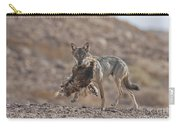 Arabian Wolf Canis Lupus Arabs Carry-all Pouch