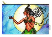 Arania Queen Of The Black Pearl Carry-all Pouch